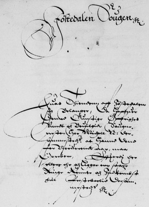Kongetienda 1626