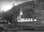 Anders Beer Wilse: Jostedal kyrkje (original hjå Norsk folkemuseum)